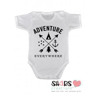 "Romper ""Adventure everywhere"""