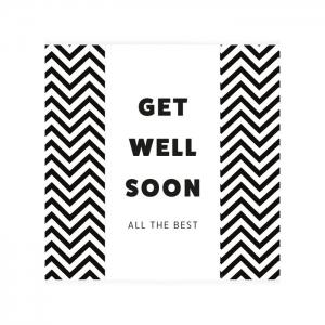 "Chocoladewens ""get well soon"""
