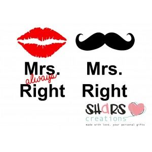 Mrs & Mr Right